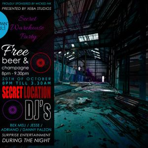 Xeba Studios Presents - The Unknown Warehouse Party V2.1 Adriano Promo Mix