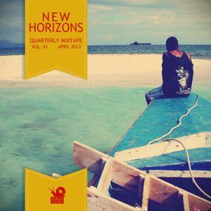 Slowly Man Sound - New horizons Vol.#1 (Quarterly Mixtapes, april 2013)