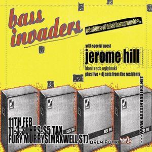 Bass Invaders (Live PA) @ Bass Invaders - Fury Murrys - Glasgow - 11.02.2005