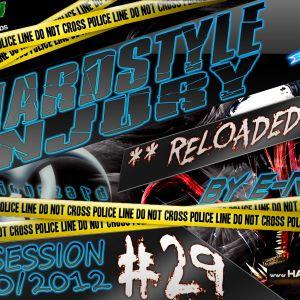E Razer – Hardstyle Injury * Reloaded * Live #29 | 04/10/12