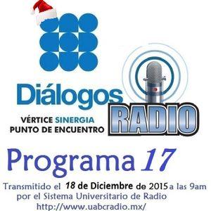 EMISIÓN 17 Transmitida el viernes 18 de Diciembre de 2015