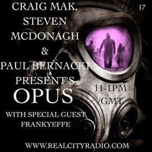 Steven Mcdonagh Opus set 9th May 2012