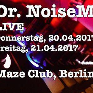 Dr. NoiseM Live 20.04.2017 @ Superbooth 2017, lsb Noise Berlin, Maze Club