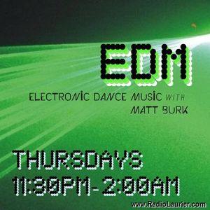 Electronic Dance Music With Matt Burk. April 26th House set.