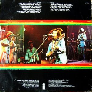 Johnnie Walker's Sounds Of The 70s - Bob Marley & the Wailers, Lyceum, 1975