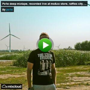 po1e deep mixtape, recorded live at mo&co store, raffles city, beijing - 24.08.2012