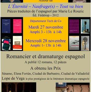 Jesus Carazo à tech de Co Bordeaux - 28 novembre 2012