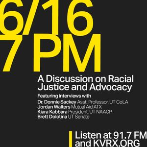A Discussion on Racial Justice and Advocacy - 6/16/2020