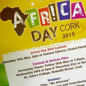 Cornerstone sounds of Africa Day Cork (29 May 2015)