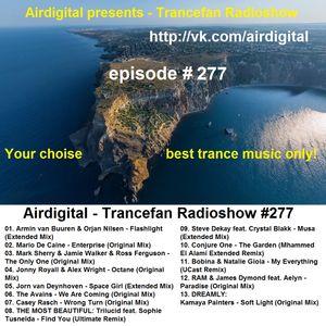 Airdigital - Trancefan Radioshow #277 2016-12-08