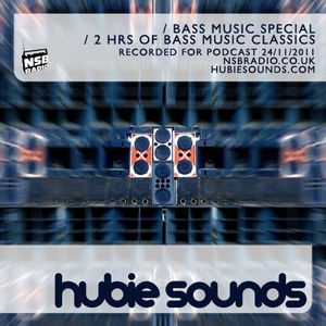 Hubie Sounds 040 - Bass Music Cloudcast - 24th Nov 2011