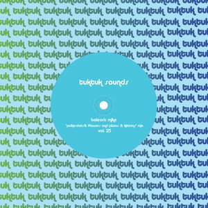 tuktuk sounds vol. 25 | balearic mike 'polka-dots & flowers and pizzas & kittens' mix