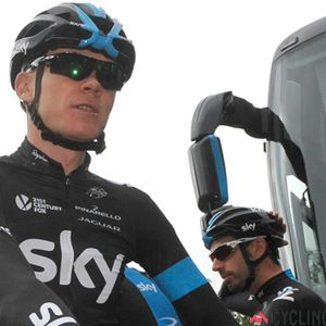 Chris Froome and Dave Brailsford discuss 2014 Tour de France chances