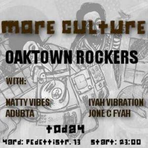 Iyah Vibration's Vinyl Selection @ More Culture! Oaktown Rockers - 05.06.2013