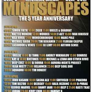 Deep Cult - Mindscapes 5 Years Anniversary [Apr 30 2012] on Pure.FM