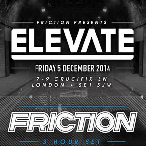 DJ Friction (Shogun Audio) @ Elevate London Exclusive Mix (01.10.2014)