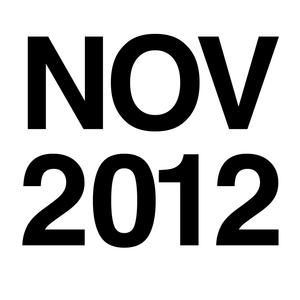 DJ Mix November 2012