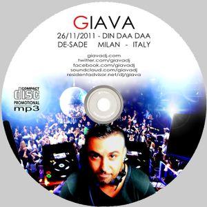 GIAVA  # 26.11.2011 # Din Daa Daa @ DE-SADE (milan - italy)