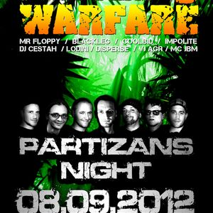 MrFloppy -Jungle Warfare8 08-09-2012 - live mix!