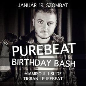 Purebeat b2b Tigran - Live @ Patron Club Budapest Purebeat Birthday Bash 2013.01.20.