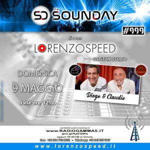 LORENZOSPEED* presents THE SOUNDAY Radio Show Domenica 9 Maggio 2021 with THE PiANO PAiNTER +CLAUDiO