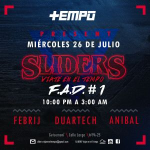 Febrij mix at Sliders/Tempo 26-07-2017