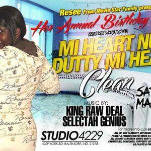 Resee Birthday Bash Saturday March 2nd, 2013 Studio 4229 York Rd, Baltimore, MD 21212