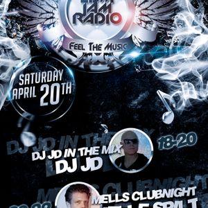 Mells Clubnight 20-04-2013 EDM JAM RADIO