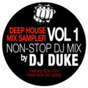 Dj Duke - Deep House Mix Sampler Vol. 1 Continuous Dj Mix 2019