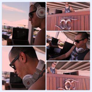 Deejay Cruz Live @ Ocean Club Marbella August 2012