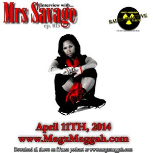 015- An interview with Mrs Savage
