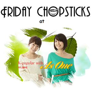 "Friday Chopsticks @ TBS eFM Korea - interview with As one for the show ""K-popular"""