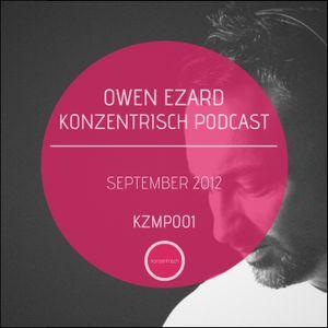 Owen Ezard Konzentrisch Podcast 001 (September 2012)