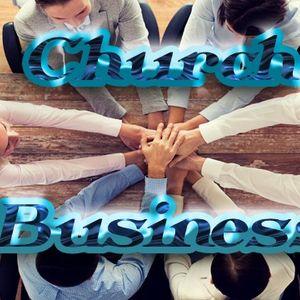 """Church Business"" - Audio"