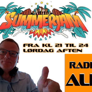 SummerJam from Radio ALR in Denmark - Music from the 70's up till to day