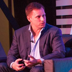 01 - Peter Thiel on Stagnation, Innovation, and What Not to Call your Company (Live at Mason)