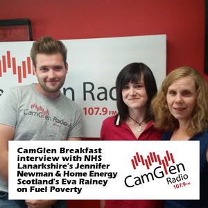 CamGlen Breakfast interview with Jennifer Newman & Eva Rainey on Fuel Poverty, 20 Jun 2017