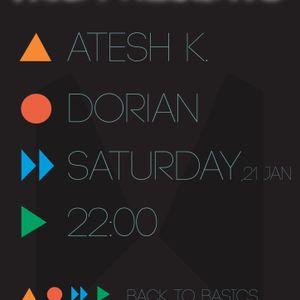 Atesh K. Live DJ Set @ Dorian (Including Live Jam with Galaktika) Part 3