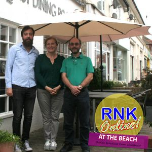 Andrew English with Rob Freeman – RNK Outside Broadcast from Whitstable