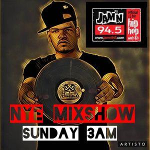 DJ STIX NEW YEAR MIXSHOW ON JAMN945