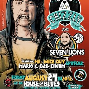 Mr Nice Guy Live @ the H.O.B. w/Crizzly and Seven Lions
