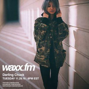Darling Chuck on @WAXXFM - Tuesday 11.29.16
