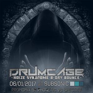 Drumcage Promomix #02 - Phonetic vs Spectriv