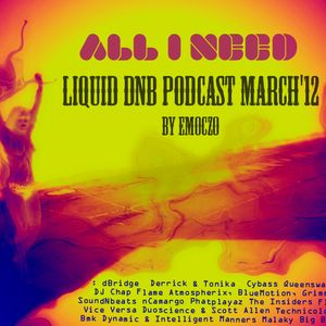 """ALL I NEED"" LIQUID DNB PODCAST MARCH'12 BY EMOCZO"