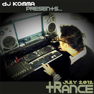 dj komma presents... TRANCE July 2012