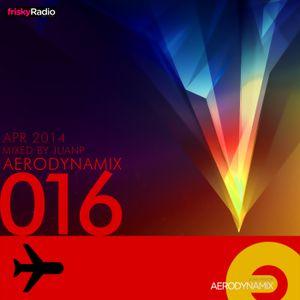 Aerodynamix 016 @ Frisky Radio April 2014 mixed by JuanP