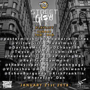 Street Glory on Hot 97 Live 1 21 18 by DJ Tony Tone BKS