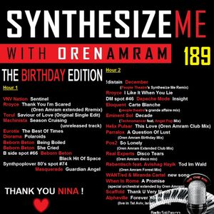 Synthesize Me #189 - 11/09/2016 - hour 1 - Birthday special