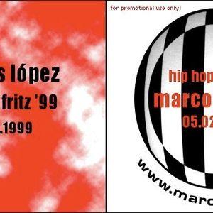 DJ Mix for Radio Fritz (orb) - Marcos López - 25. Januar 1998 - Hip Hop Fritz 1999 - 5. Februar 1999