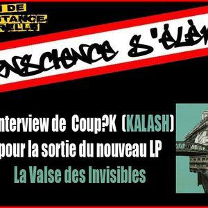 """KALASH """"La Valse des Invisibles"""" (interview radiophonique)"""